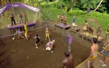 Survivor Samoa's Schmergen Brawl challenge