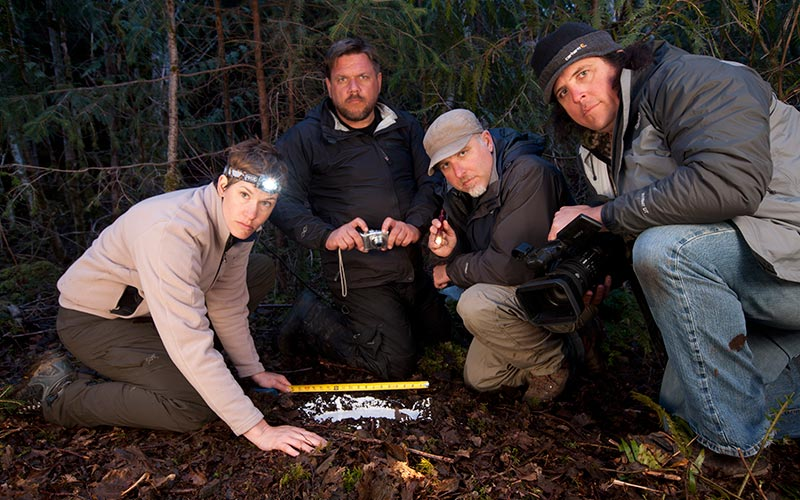 Finding Bigfoot team, season one, Animal Planet