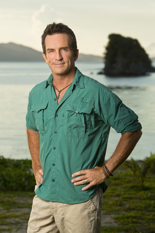 Survivor Cagayan host Jeff Probst