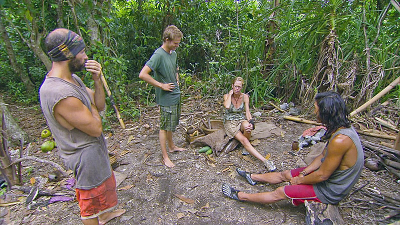 Survivor Cagayan's final four: Tony Vlachos, Spencer Bledsoe, Kassandra