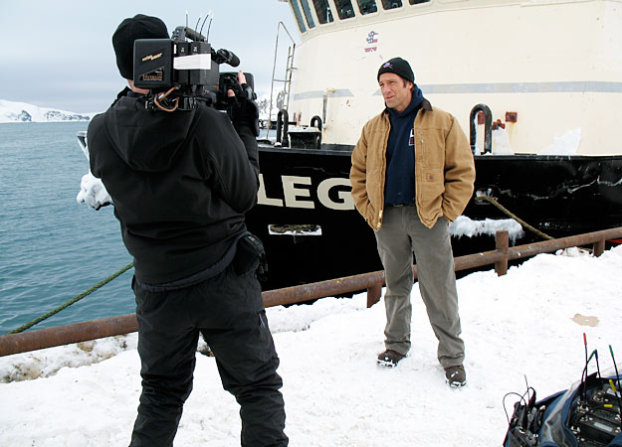 Mike Rowe and Dirty Jobs camera operator