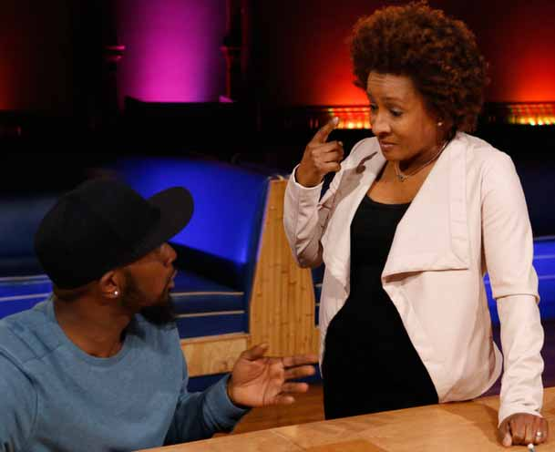 Last Comic Standing mentor Wanda Sykes is the best part of the rebooted show. (Photo by Ben Cohen/NBC)