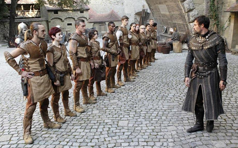 The Paladins and Sir Ansgar in The Quest. (Photo by Rick Rowell/ABC)