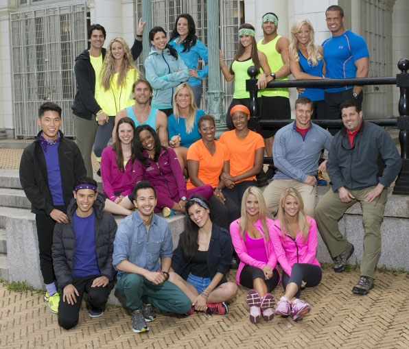 The Amazing Race 25's cast