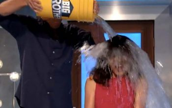 Julie Chen takes the ALS ice bucket challenge on Big Brother 16