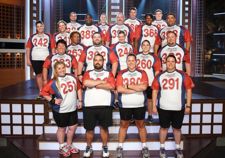 The cast of The Biggest Loser 16 (Photo by Trae Patton/NBC)