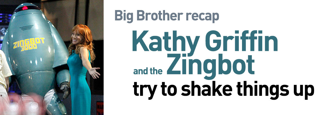 BB16 Big Brother's Zingbot and Kathy Griffin