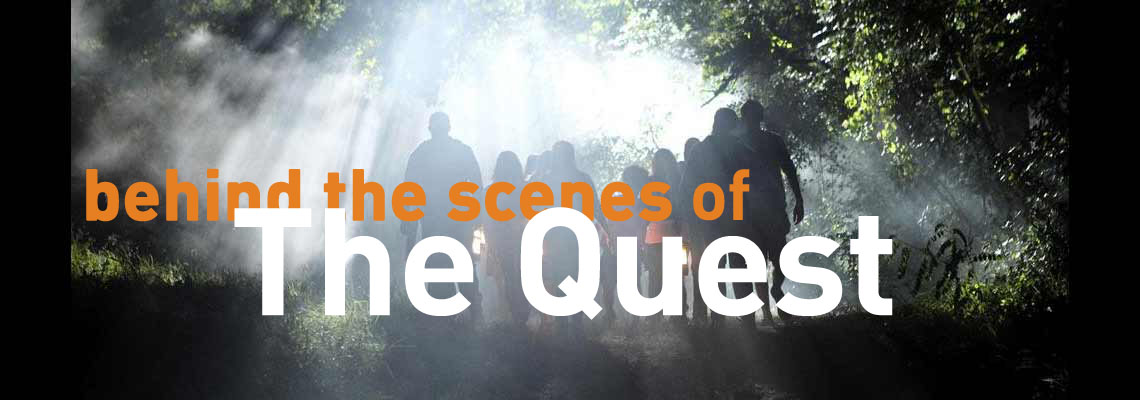Behind the scenes of ABC's The Quest