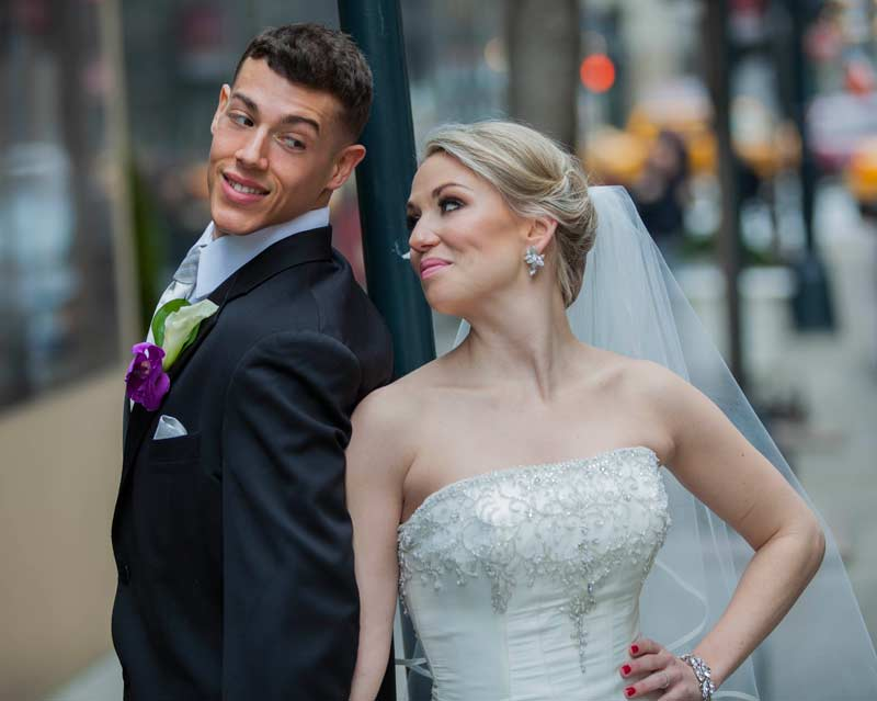 Jason and Cortney in FYI's Married at First Sight