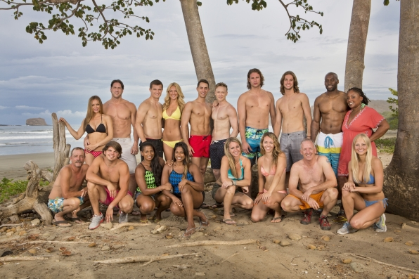 Survivor San Juan Del Sur's Blood vs. Water cast