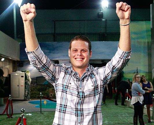 Big Brother 16 winner Derrick Levasseur