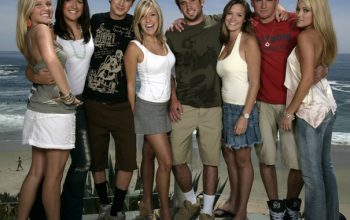 The cast of MTV's Laguna Beach