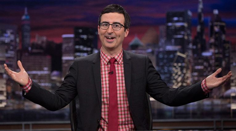 John Oliver on HBO's Last Week Tonight