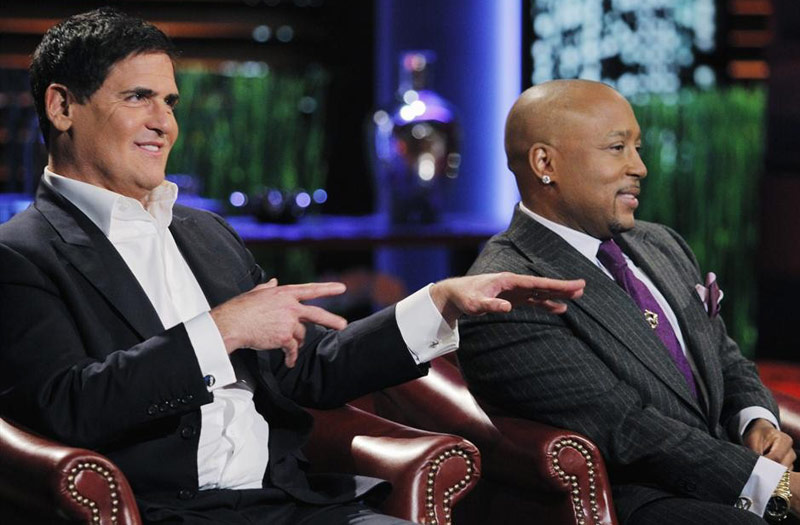 Shark Tank's Mark Cuban and Daymond John