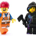 The LEGO Movie's Emmet and Wyldstyle