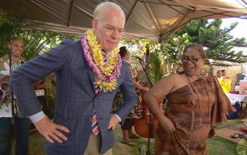 Tim Gunn in Hawaii