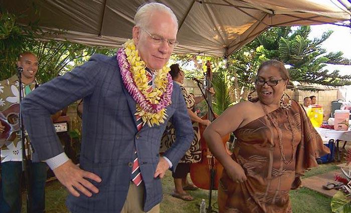 Tim Gunn in Hawaii
