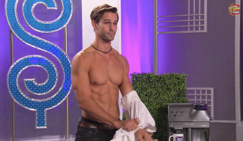 Two Survivors competing in The Price is Right's male model search