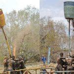 After tribe shake-up, Survivor tribes shake poles