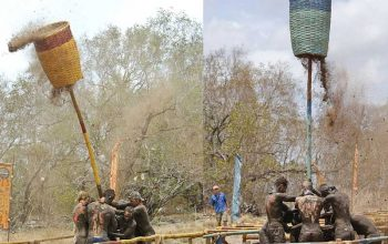 After tribe shake-up, Survivor tribes shake poles
