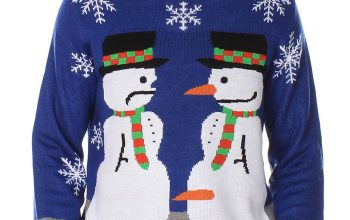 Tipsy Elves snowman sweater