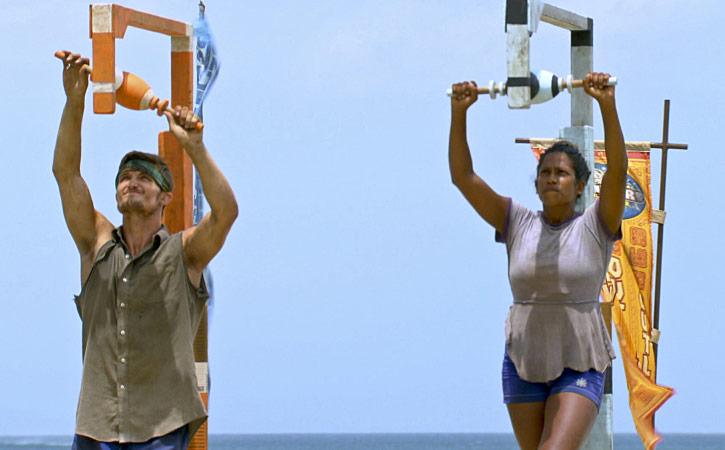 Jon Misch and Natalie Anderson on Survivor San Juan Del Sur