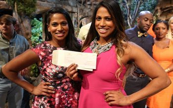 Survivor winner Natalie Anderson and her sister Nadiya