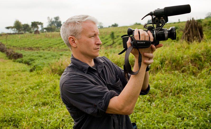 The Mole host Anderson Cooper