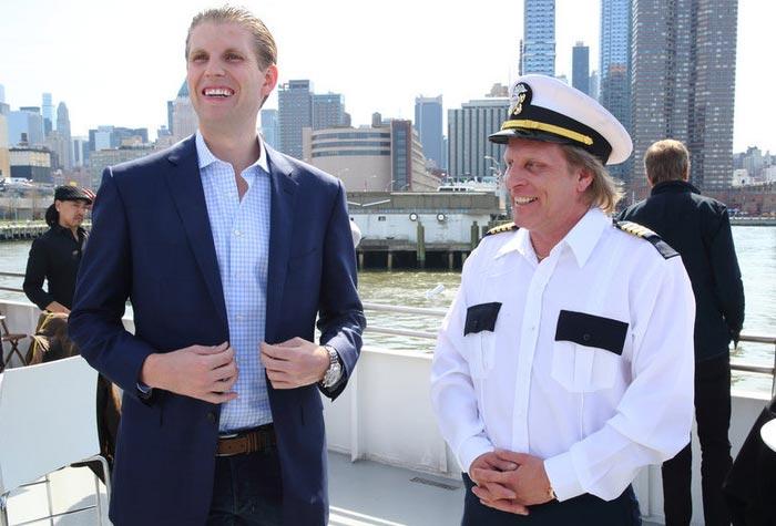 Celebrity Apprentice's Eric Trump and Sig Hansen