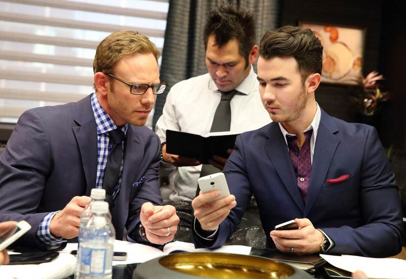Celebrity Apprentice's Ian Ziering, Johnny Damon, Kevin Jonas