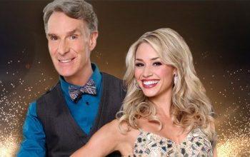Bill Nye and Tyne Stecklein on Dancing with the Stars