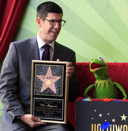 New Discovery Channel president Rich Ross in 2012, at the Muppets' Hollywood Walk of Fame ceremony. (Photo by Joe Seer / Shutterstock.com)