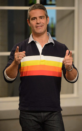 Andy Cohen on Top Chef Boston