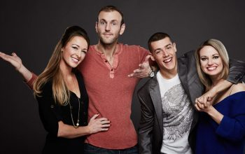 Married at First Sight: The First Year cast Jamie Otis and Doug Hehner, Jason Carrion and Cortney Hendrix