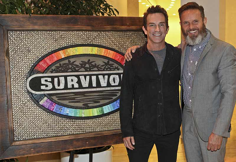 Survivor 30 Jeff Probst and Mark Burnett at Paley Center