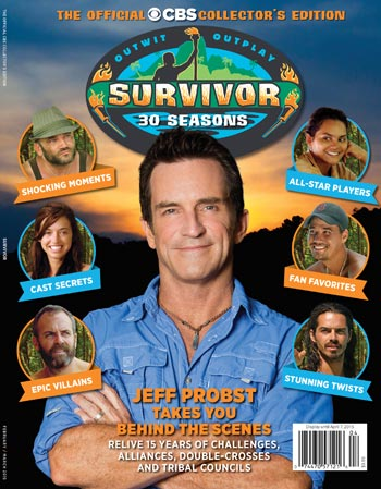 Survivor 30 seasons CBS Watch!