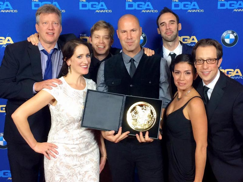 The Chair director Anthony B. Sacco won the reality TV DGA award