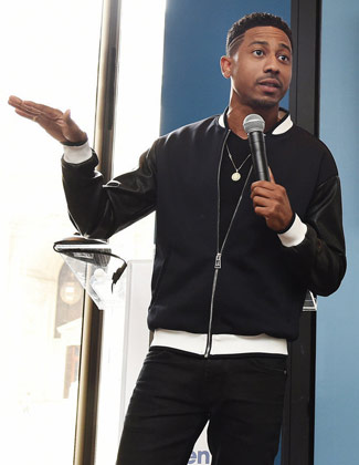 Comedians of L.A. Living with Funny Brandon T. Jackson