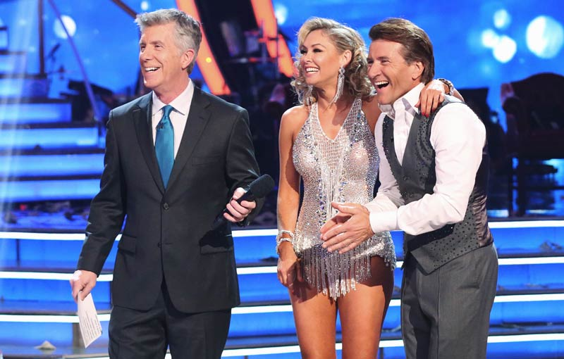 DWTS Shark Tank Robert Herjavec and Kym Johnson
