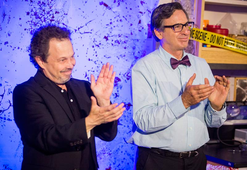 King of the Nerds hosts Curtis Armstrong and Robert Carradine
