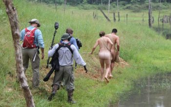 Naked and Afraid crew behind the scenes