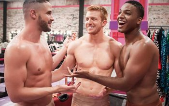 RuPaul's Drag Race Pit Crew on episode 1, Born Naked