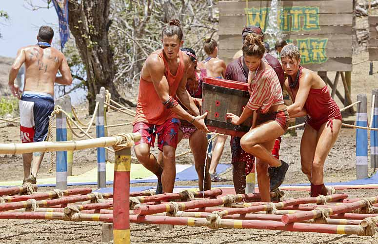 Survivor Worlds Apart episode 3 immunity challenge No Collar Tribe