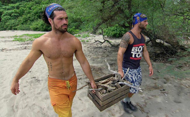 Survivor Worlds Apart Joaquin and Rodney
