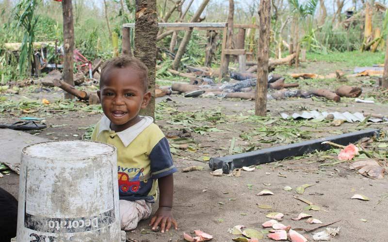 Cyclone Pam devastates Vanuatu, which hosted Survivor