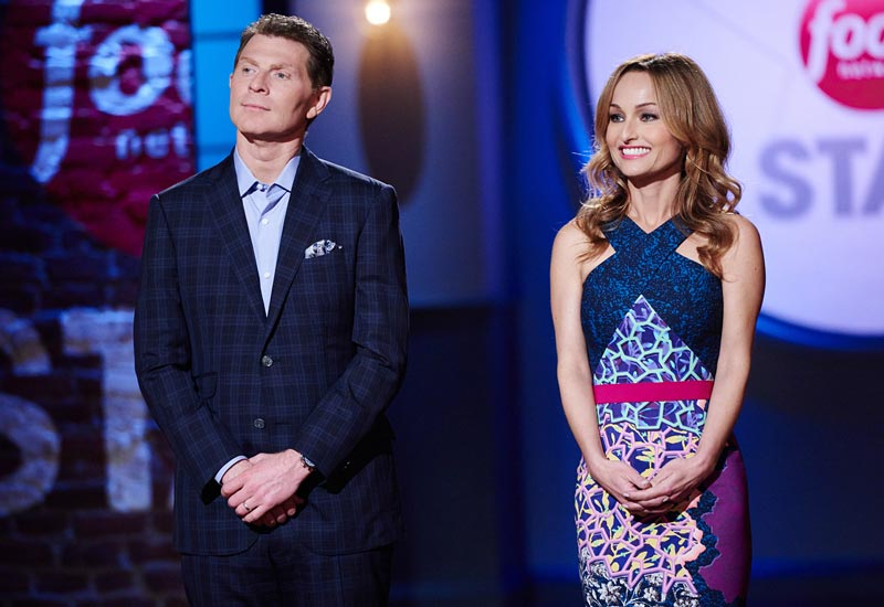 Food Network Star season 11 Bobby Flay Giada De Laurentiis no Alton Brown