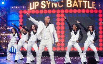 Lip Sync Battle Dwayne Johnson The Rock