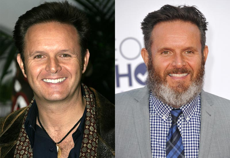 Mark Burnett beard before and after