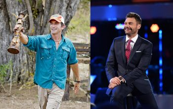 Survivor host Jeff Probst and American Idol host Ryan Seacrest
