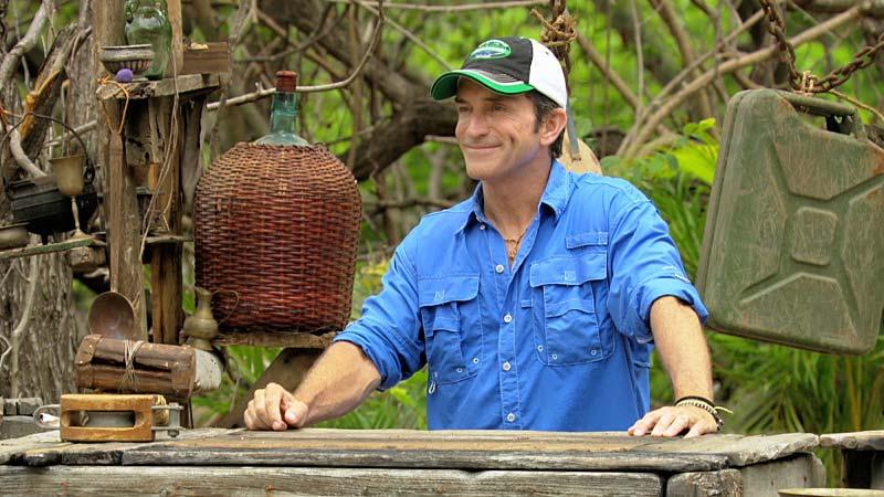 Survivor Worlds Apart Jeff Probst auction